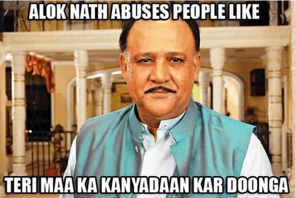 Alok Nath Meme Kanyadaan