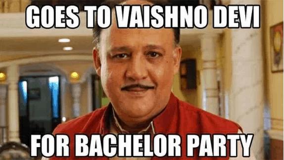 Alok Nath funny twitter meme
