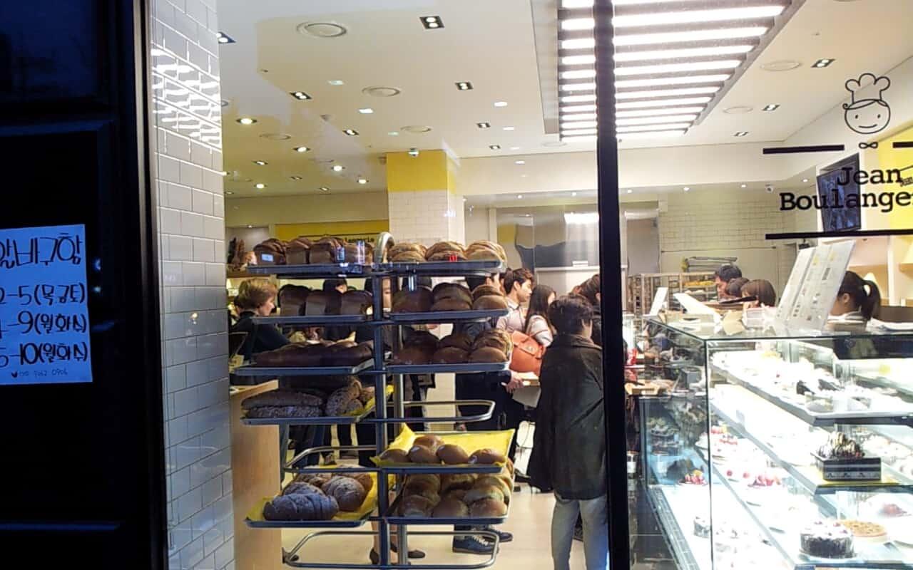 Nakseongdae Korea bakery shop
