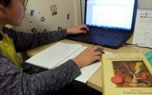 कोरियाई हिन्दी छात्र और हिन्दी इनस्क्रिप्ट टाइपिंग