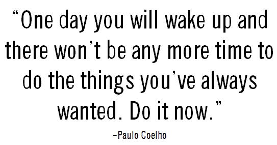 Do it now satish_paulo