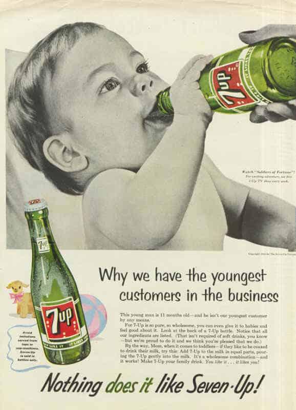 7up vintage ad