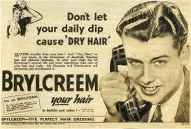 brylcreem vintage ad
