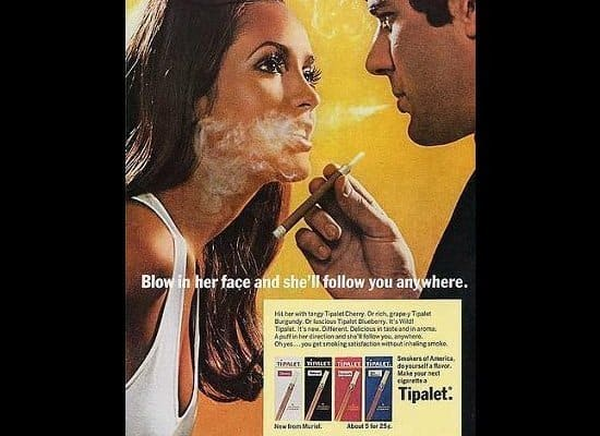 cigerrete vintage ad