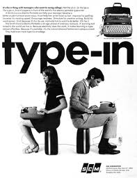typewrite vintage ad